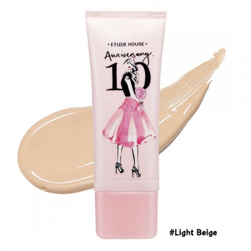 Etude House 10 Anniversary Precious Mineral BB Cream Cover & Bright Fit SPF30 PA++ #‎ผิวขาว-ขาวเหลือง